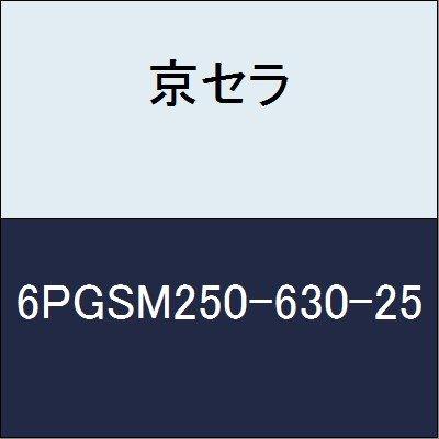 京セラ 切削工具 エンドミル 6PGSM250-630-25  B079XZDRXK