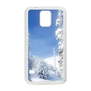 Heavy Snow Mountains Samsung Galaxy S5 Cell Phone Case White NiceGift pjz0035049553