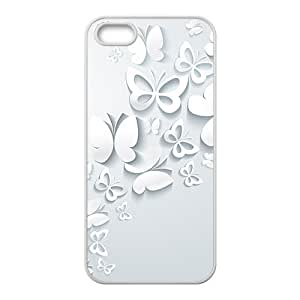The Butterflies Hight Quality Plastic Case for Iphone 5s by icecream design