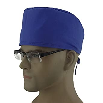 19c572cdc69 Image Unavailable. Image not available for. Color  Opromo Women s and Men s  Sweatband Scrub Cap Scrub Hat with Adjustable tie