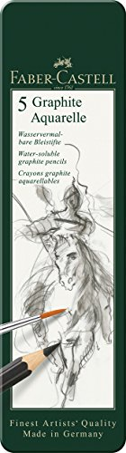 Graphite Aquarelle 5  by Faber-Castell