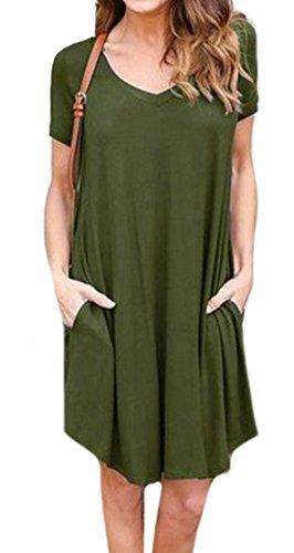 Buy belted asymmetrical pocket dress - 7
