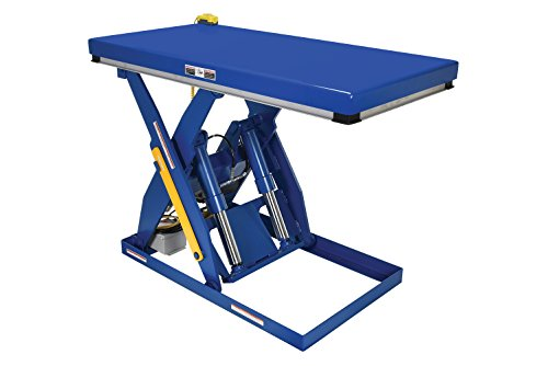 Vestil EHLT-3060-4-43 Electric Hydraulic Scissor Lift Table, 4,000 lb. Capacity, 60