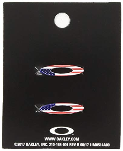 Oakley Unisex-Adult Turbine Rotor Icon Kit Replacement Lenses, USA Flag, 0 ()