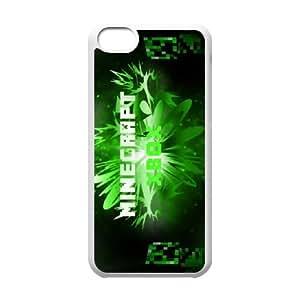 Classic Case MINECRAFT pattern design For Apple iPhone 5C Phone Case