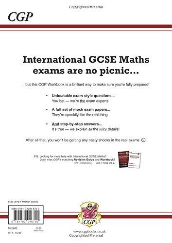New Edexcel International GCSE Maths Exam Practice Workbook