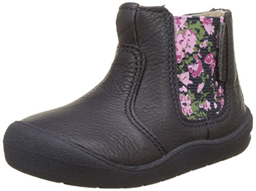 Start Navy Chelsea Bleu Multicolore Fille Floral Rite Bottines First aqgUa7A