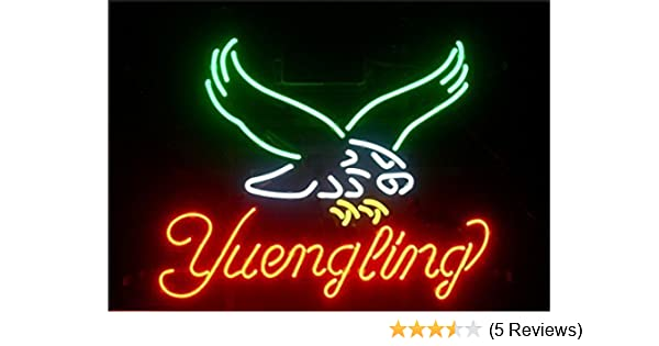 Beer Cafe Bar Store Neon Light Yuengling Eagle LARGER Neon Sign 20