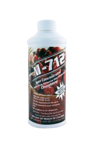 NI-712 Odor Eliminator, Cinnaberry, 1 Pint