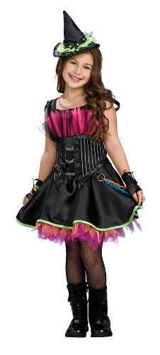 Rockin Witch Child Costumes (Rockin' Out Witch Costume - Large)