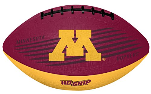 - Rawlings NCAA Minnesota Golden Gophers Unisex 07903085111NCAA Downfield Youth Football (All Team Options), Red, One Size