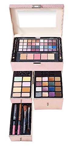 Ulta Beauty 73 Piece Makeup Collection Set Kit Beauty Treasures Rose Gold Case $200 Value