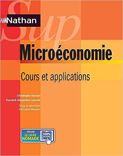 Lire un Microéconomie pdf, epub