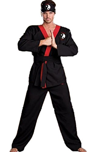 Hung Lo Martial Arts Halloween Costume (XL)