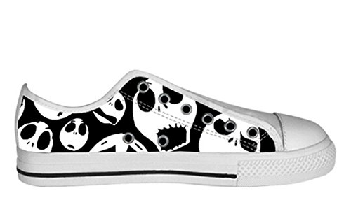 Womens Canvas Low Top Shoes The Nightmare Before Christmas Design Dayofdead Shoes23 FOdsRkN6