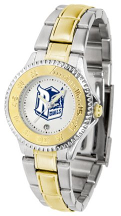 SunTime Rice Owls Competitor Ladies Watch with Two-Tone Band