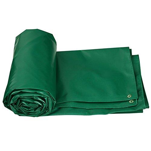 航海のとにかくイデオロギーGUOWEI-pengbu ターポリン キャンバス 布 シェード 日焼け止め 防水 不凍液 耐引裂性 老化防止 個人的なカスタマイズ 屋外 5色 (色 : Green, サイズ さいず : 4.9x3.8m)