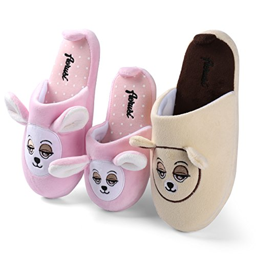 Beautiful Bedroom Indoor Slippers Footwear On Warm Kid Slip Dad Comfory Bunny Family Mom Pink Slipper Aerusi Soft House 6qXwR8W