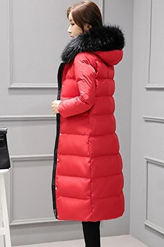 Generic Nagymaros collar down jacket female Korean long section word cloak knee coat was thin thick white duck down jacket for women girl