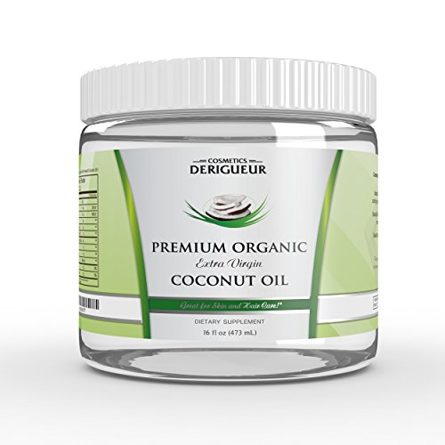 | Curly Hair Questions Organic Extra Virgin Coconut Oil for Skin and Curly Hair, 16 fl. oz. ()