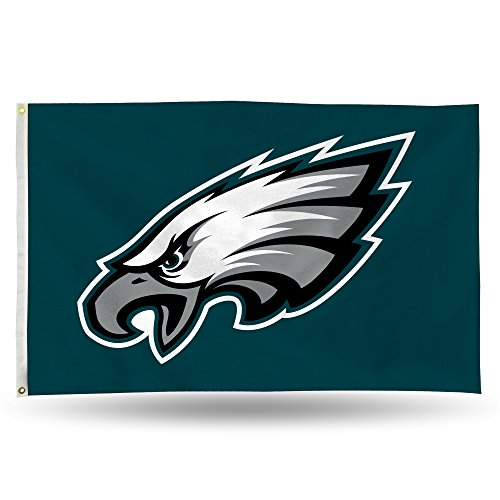 NFL Philadelphia Eagles Banner Flag, 3' x 5', Green