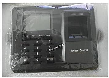 Generic 125 KHz TCP/IP tiempo biométrico de huellas digitales asistencia reloj electrónico grabadora, dispositivo de control de acceso teclado empleado ...