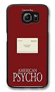 American Psycho Nail Scene Polycarbonate Hard Case Cover for Samsung Galaxy S6 Black