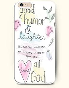 Case Cover For SamSung Galaxy S6 Hard Case **NEW** Case with the Design of Good humor and laughter are far too wonderful from the heart of god - Case for iPhone Case Cover For SamSung Galaxy S6 (2014) Verizon, AT&T Sprint, T-mobile