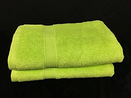 Lote de 2 toallas de baño – 70 x 140 – Esponja 600 G/m²