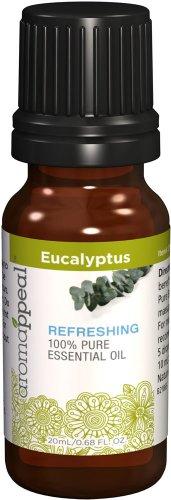 025077218653 - Aromappeal Eucalyptus 100% Pure Essential Oil-20 ml Oil carousel main 0