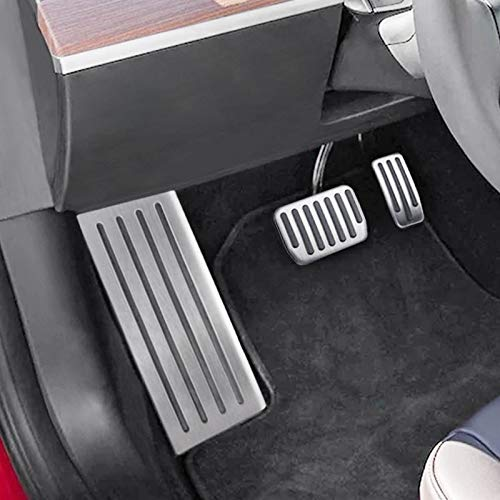 BASENOR Foot Rest Dead Pedal Cover for Tesla Model 3 by BASENOR (Image #7)