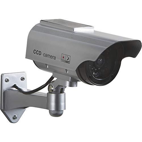 Ironton Solar Powered Simulated Decoy Surveillance Bullet Camera