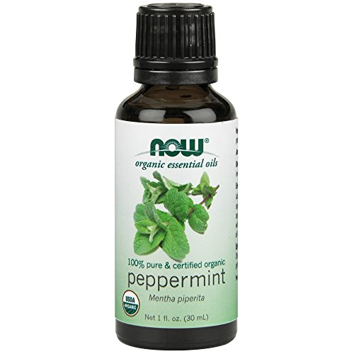 NOW Solutions Organic Peppermint Essential Oil, 1-Ounce