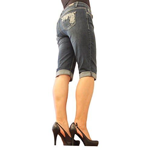 Earl Jean Women Capri and Emb Back Pocket Epm113 supplier