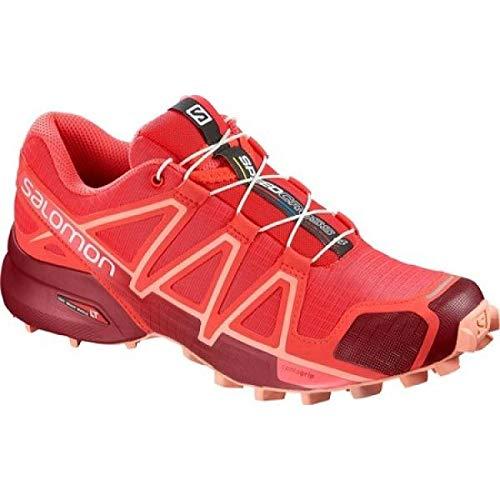 (サロモン) Salomon レディース ランニング?ウォーキング シューズ?靴 Speedcross 4 Trail Running Shoe [並行輸入品]
