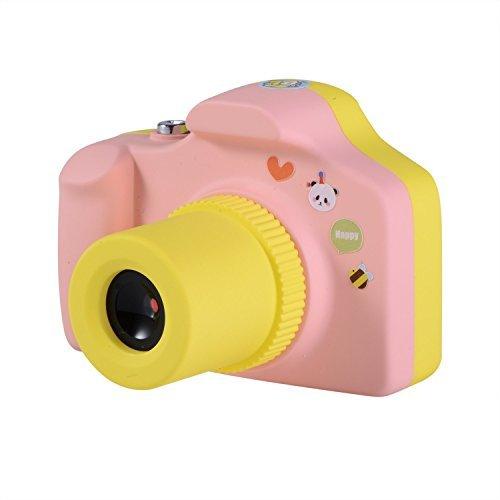 Kids Pink Digital Camera - Kids Digital Camera ,CamKing Mini 1.5 Inch Screen Children's Camera (Pink)