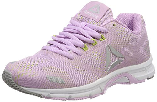 Reebok Women's Ahary Runner Training Running Shoes, Grey Viola (Moonglow/Electric Flash/Silver/Stark Grey)