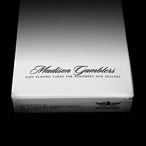 Ellusionist Madison Gamblers Gaff Deck for Rounders & Dealers Playing Cards by