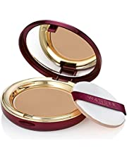Powder Foundation - WANDER BEAUTY WANDERLUST - Tan - Vegan Makeup - Lightweight Powder Foundation Covers Everything, Silky Smooth, Natural, Matte Finish, Sheer to Buildable Full Coverage