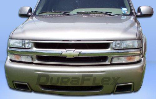 Duraflex Replacement for 2000-2006 Chevrolet Tahoe Suburban 99-02 Silverado SS Front Bumper Cover - 1 Piece