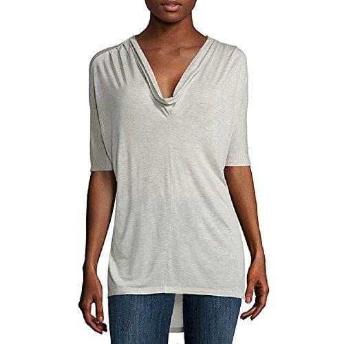 Liz Claiborne Dolman-Sleeve Tunic Top Size XL Heather
