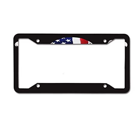 Auto Truck Car Front Tag Personalized Aluminum Metal License Plate Frame Cover 12 x 6 Inch