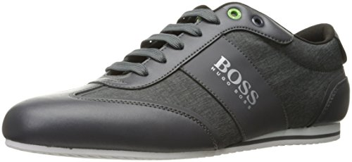 Hugo Boss Heren Aansteker Lage Nych Fashion Sneaker Donkergrijs