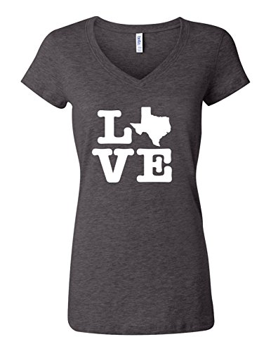 Texas Womens V-neck - 3