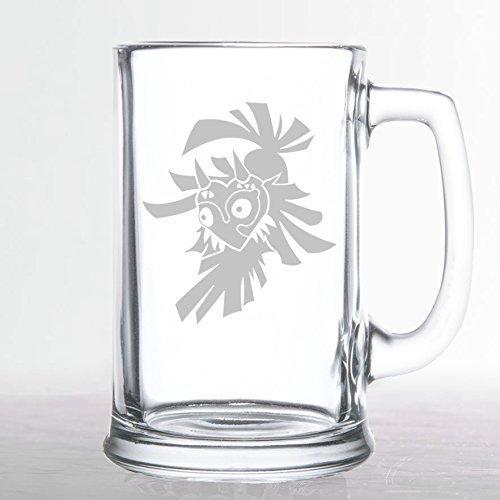 The Legend of Zelda - Skull Kid - Etched Beer Mug