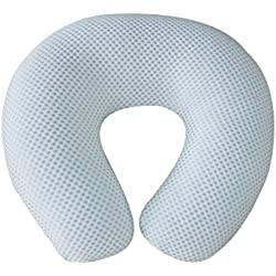 Comfortable New Silver Dot Design Nursing Pillow for Mom and Baby by All American Collection, Portable,Soft and Light