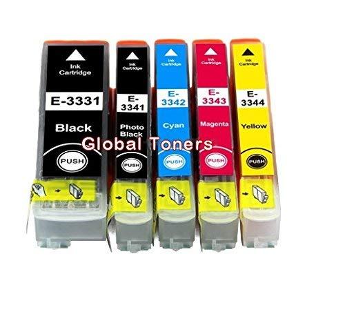 COMBO PACK - Cartuchos de tinta compatibles T3357 para impresoras ...
