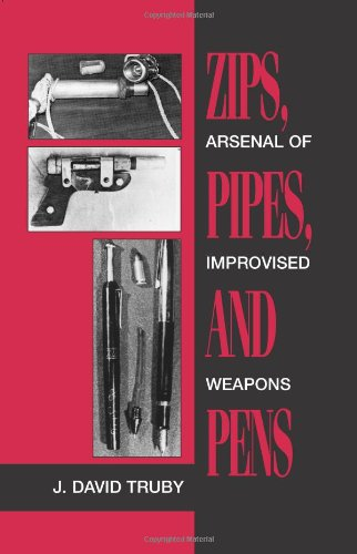 Zips, Pipes, And Pens: Arsenal Of Improvised Weapons (Homemade Ninja Weapons)