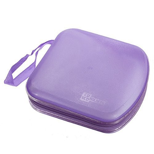 Foxnovo Portable Clear Plastic 40 CD DVD VCD Disc Holder for sale  Delivered anywhere in USA