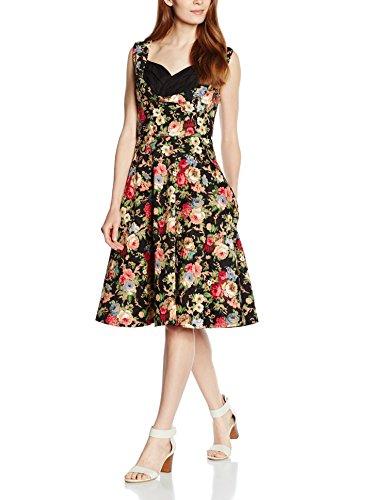 Lindy Black Schwarz Ophelia Floral Bop Kleid Black Damen Rw1qnRr6F